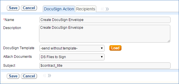 DocuSign Integration - Help - Agiloft Help