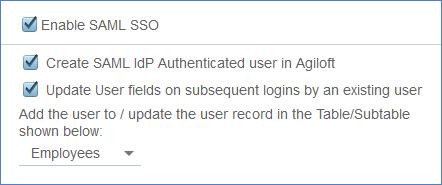 Okta SAML Integration - Help - Agiloft Help