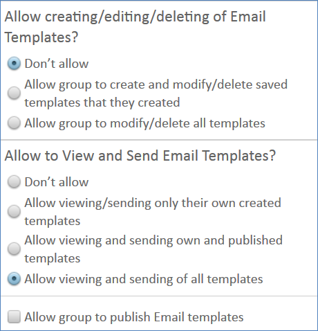 Configure Group Permissions for Sending Emails - Help