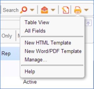 Printing from word html and pdf templates help agiloft help to manually print records from a template maxwellsz